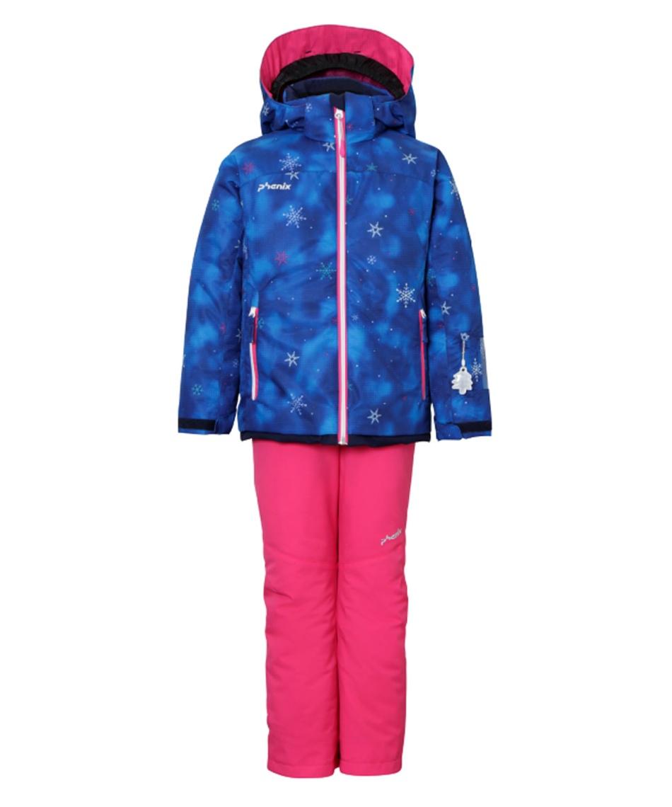フェニックス(Phenix) スキーウェア 上下セット Snow Crystal Kid's Two-piece PSAH22P75 【20-21 2021モデル】