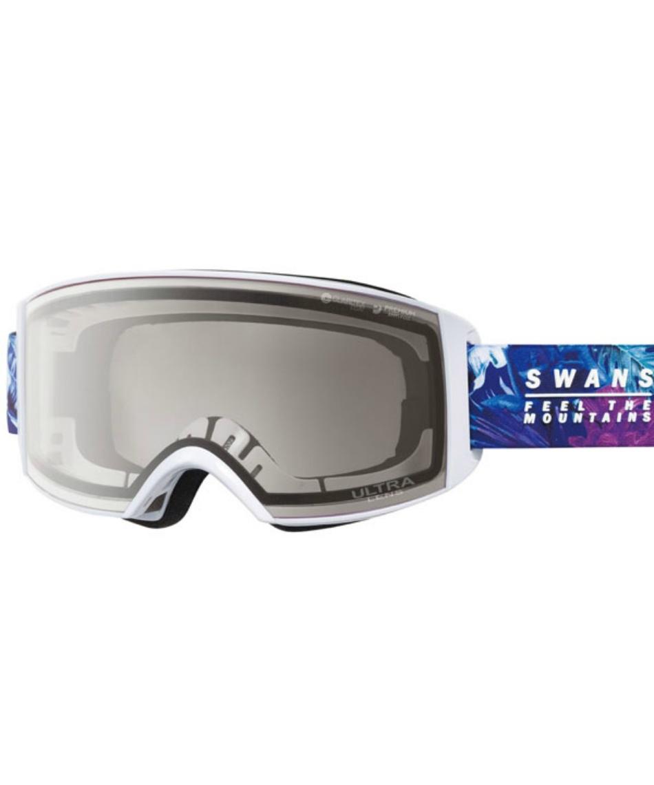 スワンズ(SWANS) スキー スノーボードゴーグル 眼鏡対応 ULTRAレンズ メガネ対応 ラカン V-RACAN-MDH-UL 【20-21 2021年モデル】