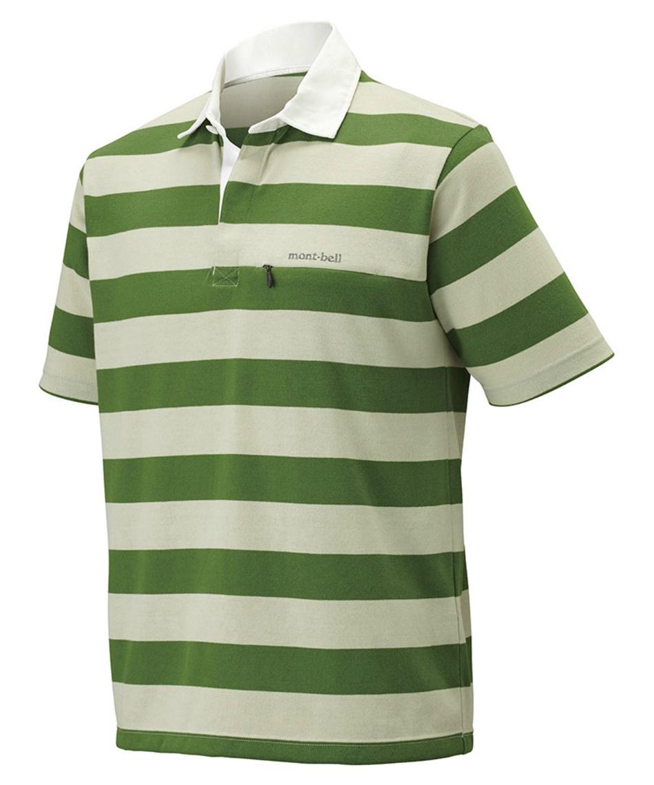 アウトドア ポロシャツ 半袖 WIC.ラガーシャツハーフスリーブ  1104780