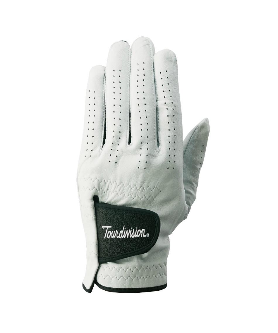 ツアーディビジョン ( Tour division ) ゴルフ 左手用 天然皮革グローブ  TD230401E03