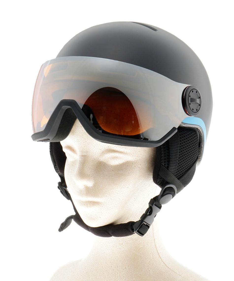 サロモン ( salomon ) スキー スノーボード ヘルメット 53-56cm  6歳-12歳 S-GROM VISOR