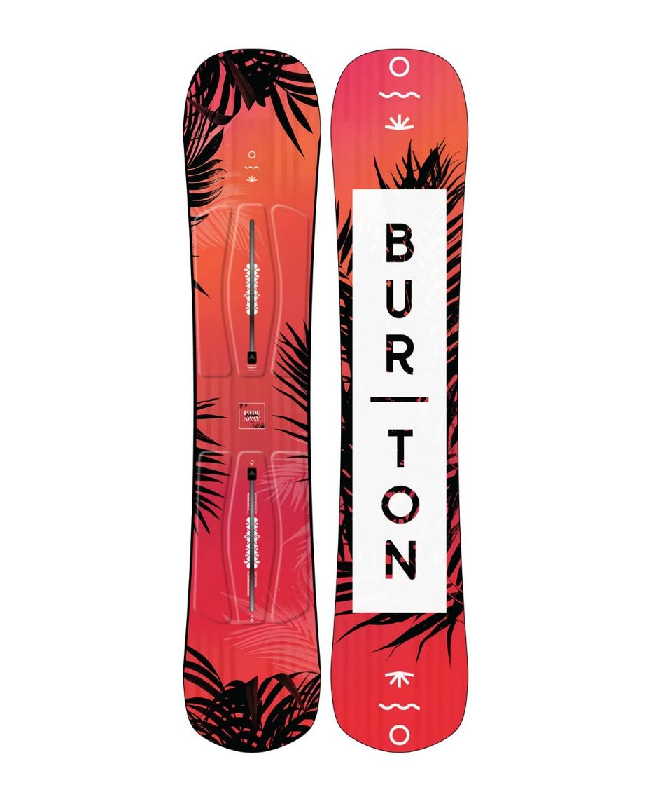 バートン(BURTON) スノーボード 板 Women's Hideaway Snowboard ハイダウェイ 106961