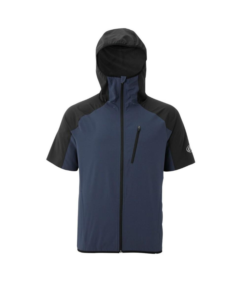 ローリングス(Rawlings) 野球 トレーニングウェア フルジップ半袖パーカージャケット AOS9S02