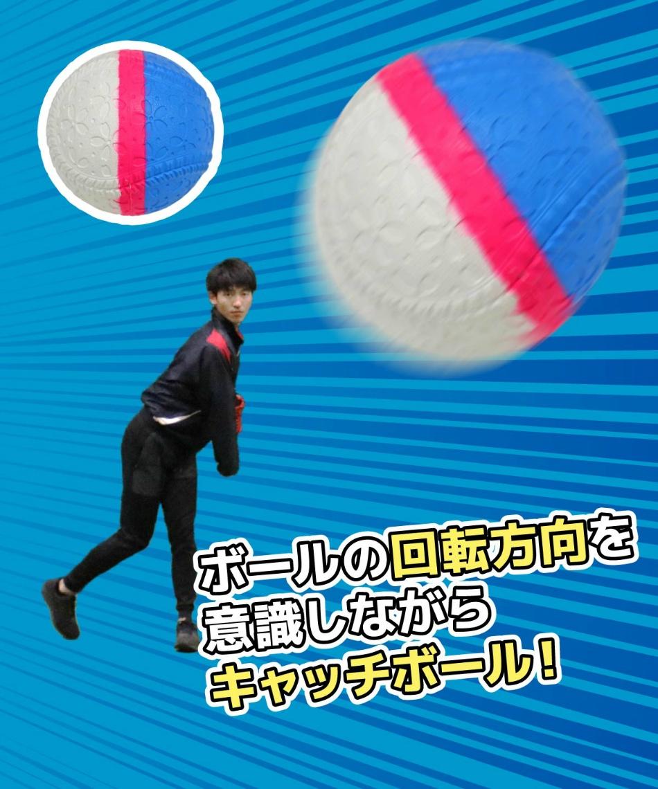 フィールドフォース(FIELDFORCE) 野球 トレーニングボール 回転チェックボール J号 FNB-681JK