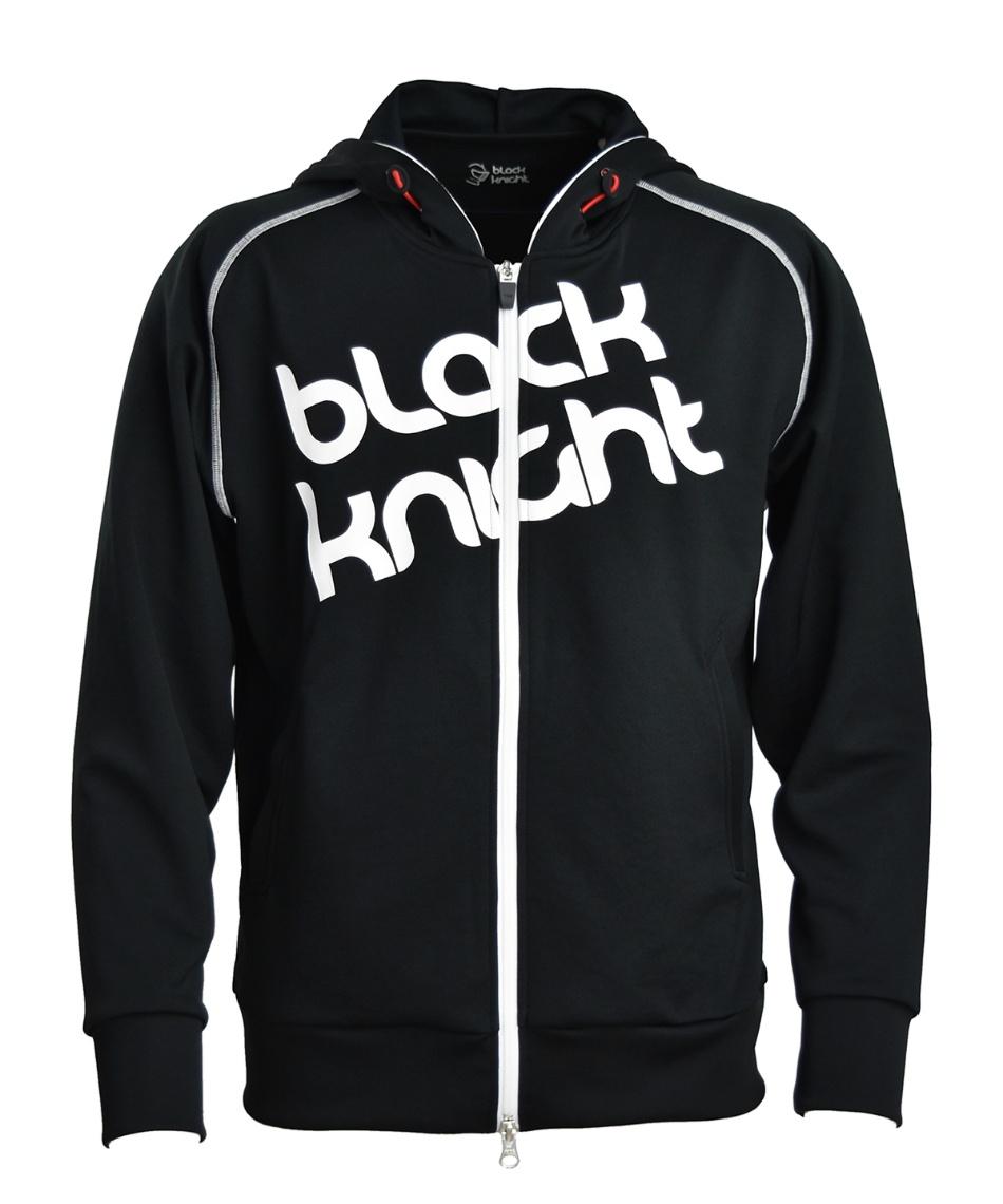 ブラック ナイト(Black knight) テニスウェア パーカー フルジップパーカー T-9420