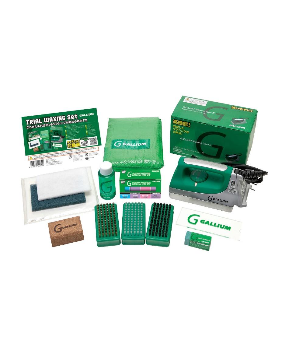 ガリウム(GALLIUM) ワックスセット アイロンセット トライアルワクシングセット JB0009