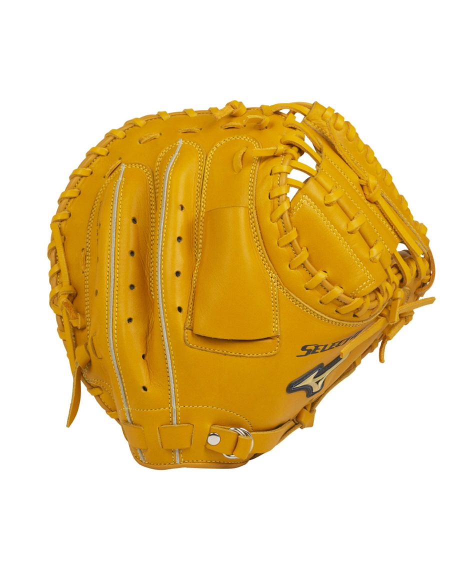 ミズノ(MIZUNO) 野球 一般軟式グローブ 捕手 セレクトナイン 捕手用 C2型 キャッチャーミット 1AJCR22700