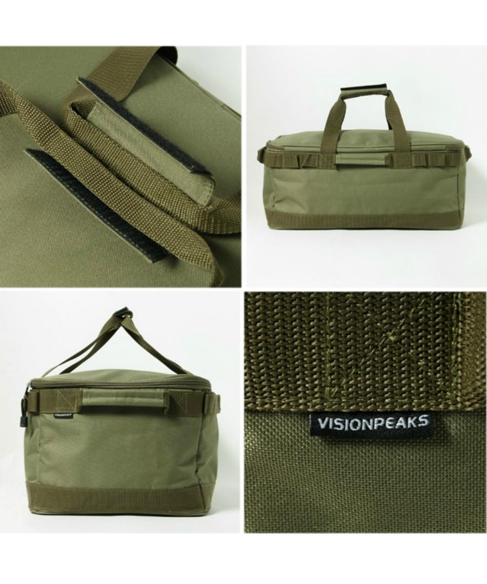 ビジョンピークス(VISIONPEAKS) 収納ボックス キャンプギアボックス VP160309J10