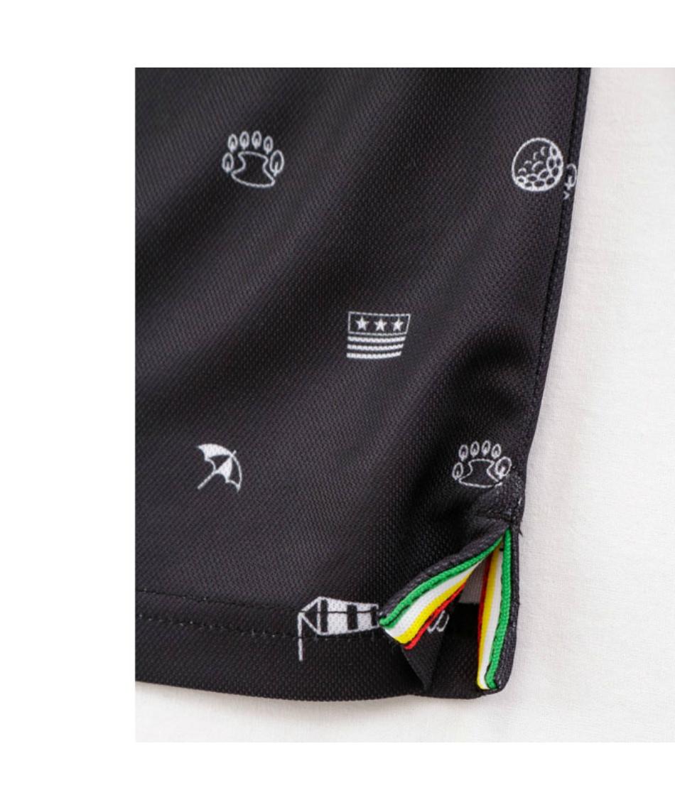 アーノルドパーマー(arnold palmer) ゴルフウェア ポロシャツ 長袖 トビ柄ボタンダウン長袖シャツ AP220202J03 【2020年秋冬モデル】
