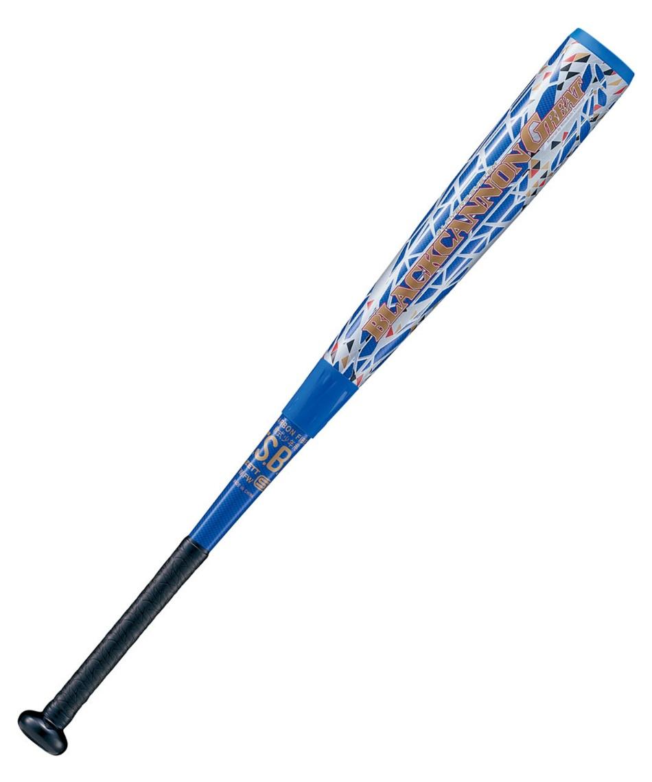 ゼット(ZETT) 野球 少年軟式バット 少年野球 軟式 バット ブラックキャノンGREAT グレート BCT75006FW