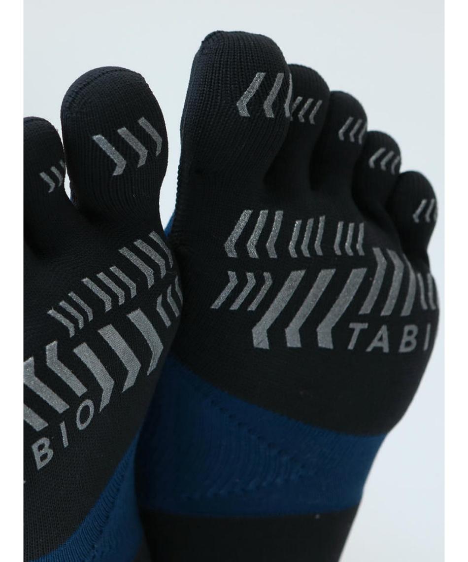 タビオ(TABIO) ショートソックス レーシングラン プロ 五本指ソックス M 072120039