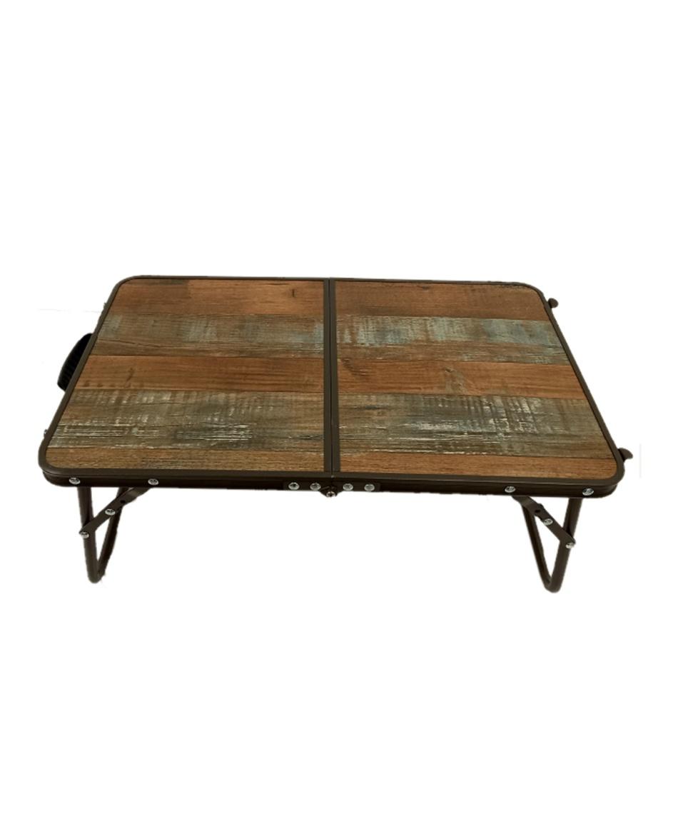 ビジョンピークス(VISIONPEAKS) アウトドアテーブル 56cm ミニスリムテーブル VP160402D01