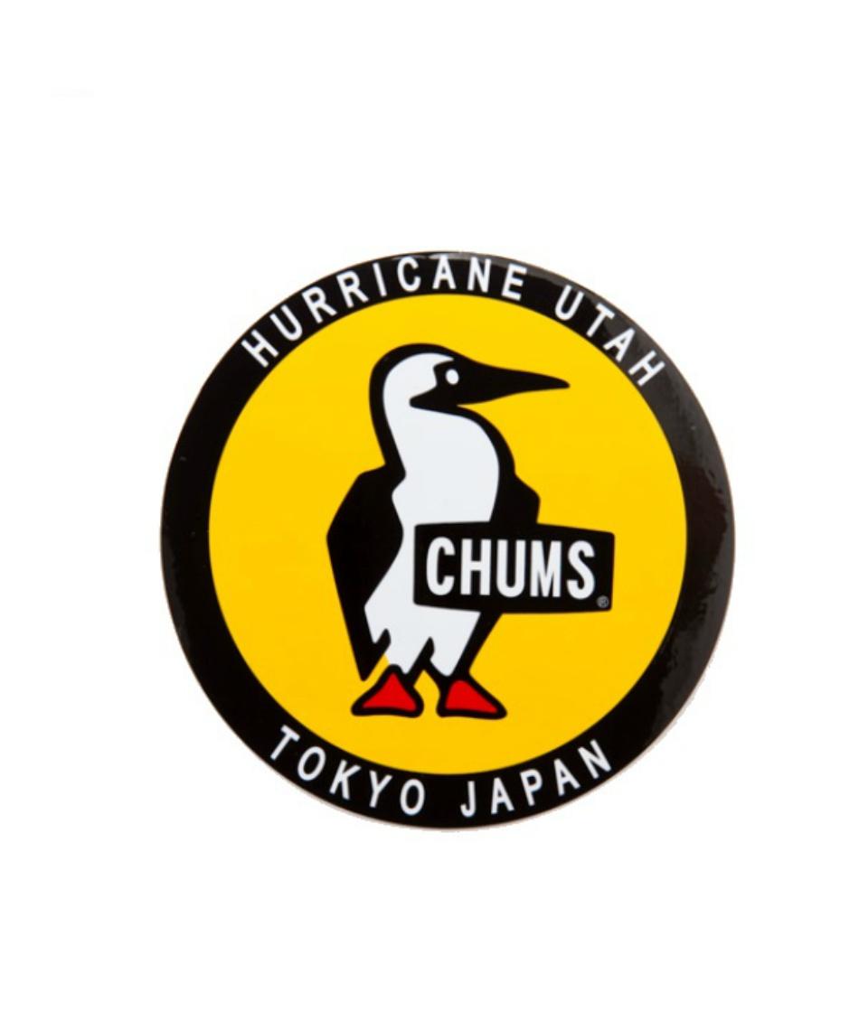 チャムス(CHUMS) ステッカー ラウンドブービーバード CH62-0156