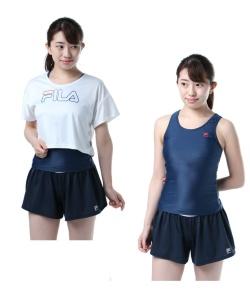 785a10a83f6 フィラ ( FILA ) タンキニ 水着セット Tシャツ&パンツ 228-708 18SS