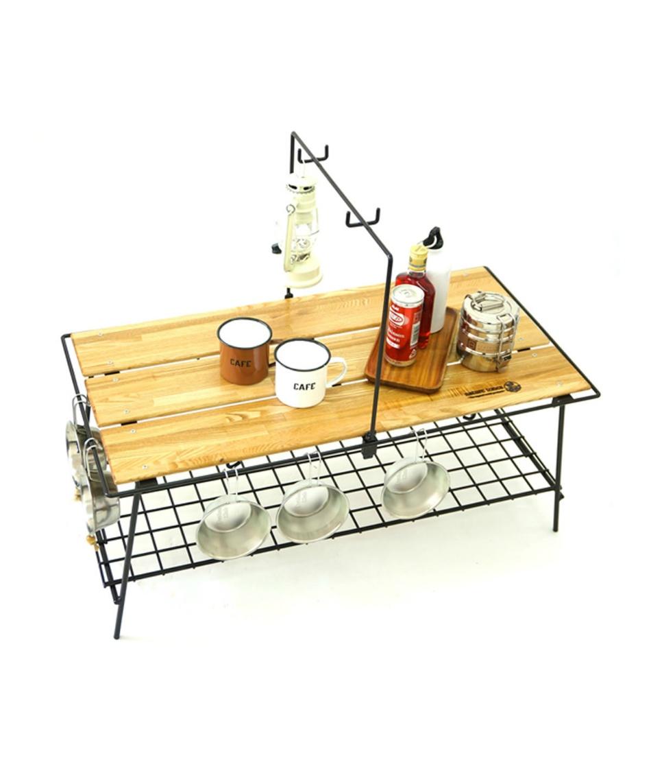 ネイチャートーンズ (NATURE TONES) アウトドアテーブル 86cm カフェテーブル CA-DB