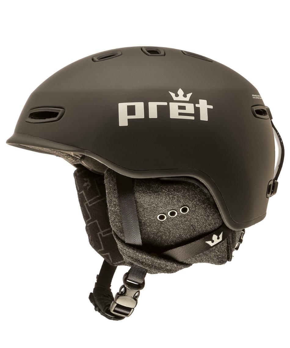 プレット(PRET) スキー スノーボードヘルメット 2サイズ有 55cm-62cm シニック T-CYNIC -S 【国内正規品】サイズ調節可能