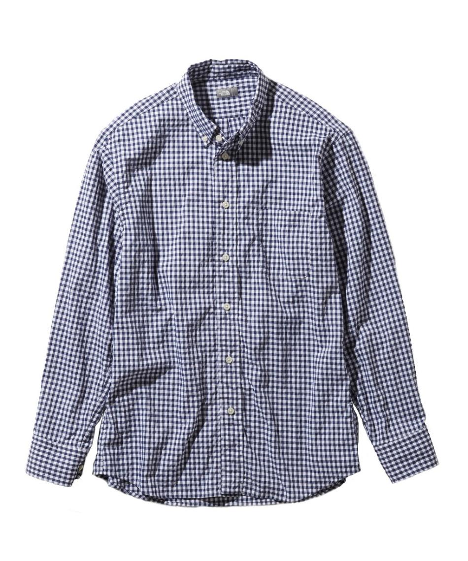ノースフェイス(THE NORTH FACE) 長袖シャツ ロングスリーブヒデンバリーシャツ L/S Hidden Valley Shirt NR11966 NG 【国内正規品】