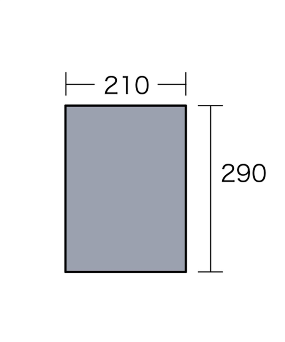 オガワテント(OGAWA) グランドシート PVCマルチシート300×220用 1403