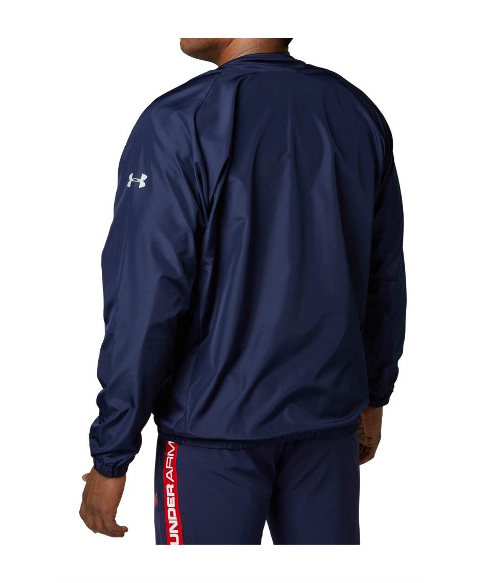 アンダーアーマー(UNDER ARMOUR) 野球 ウインドブレーカージャケットVネック UA Rookie Vネック JK 1346875 410