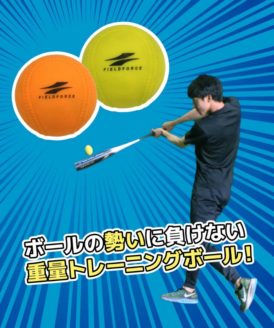フィールドフォース(FIELDFORCE) 野球 トレーニングボール インパクトパワーボールJ号 FIMP-681J