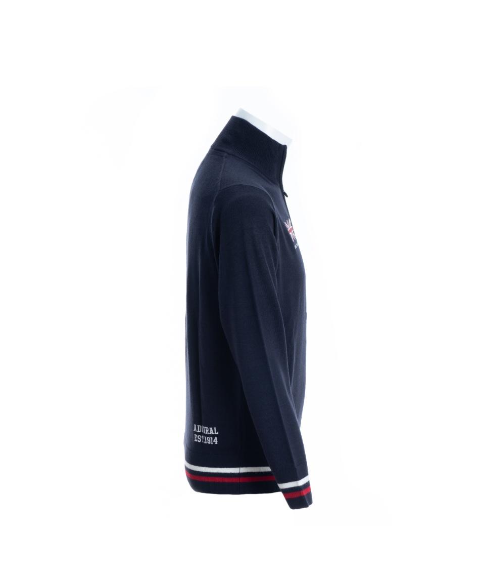 アドミラル(Admiral) ゴルフウェア セーター フラッグフルジップニットセーター ADMA997 【2019年秋冬モデル】