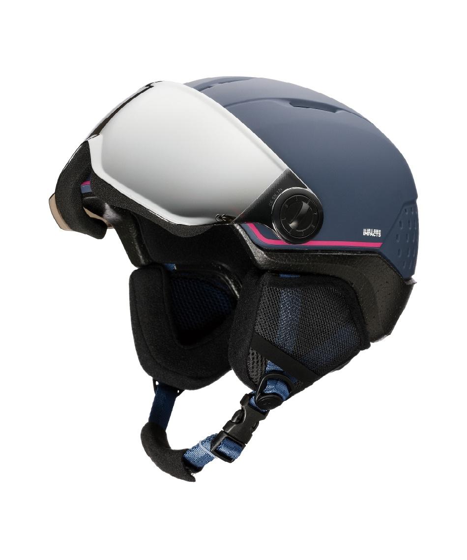 ロシニョール(ROSSIGNOL) スキー スノーボード ヘルメット 52-55cm 3歳-6歳 WHOOPEE VISOR IMPACT U-WHOOPEE VISOR IMPACT