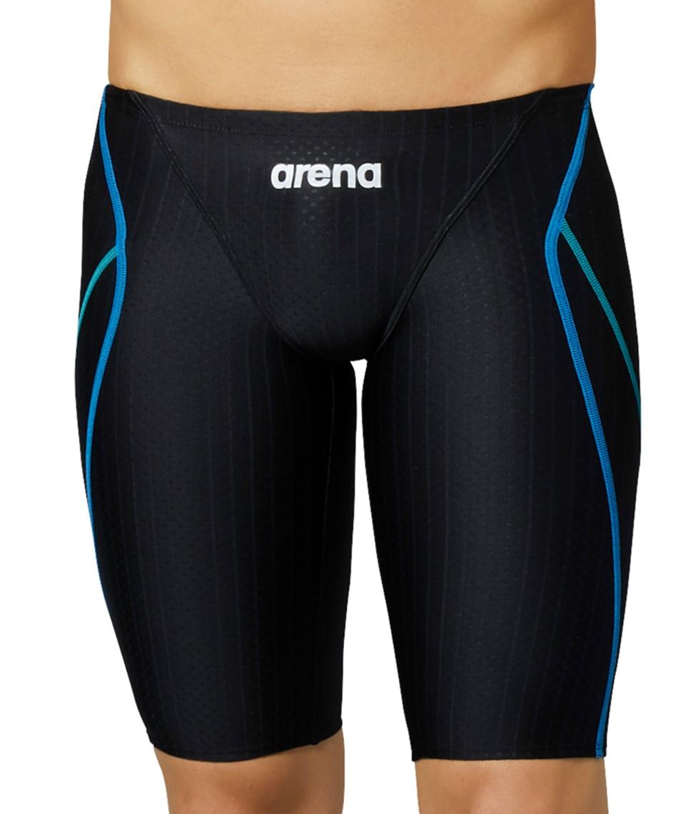 アリーナ(arena) FINA承認 競泳水着 ハーフスパッツ マスターズSP ARN-0052M-BKBU