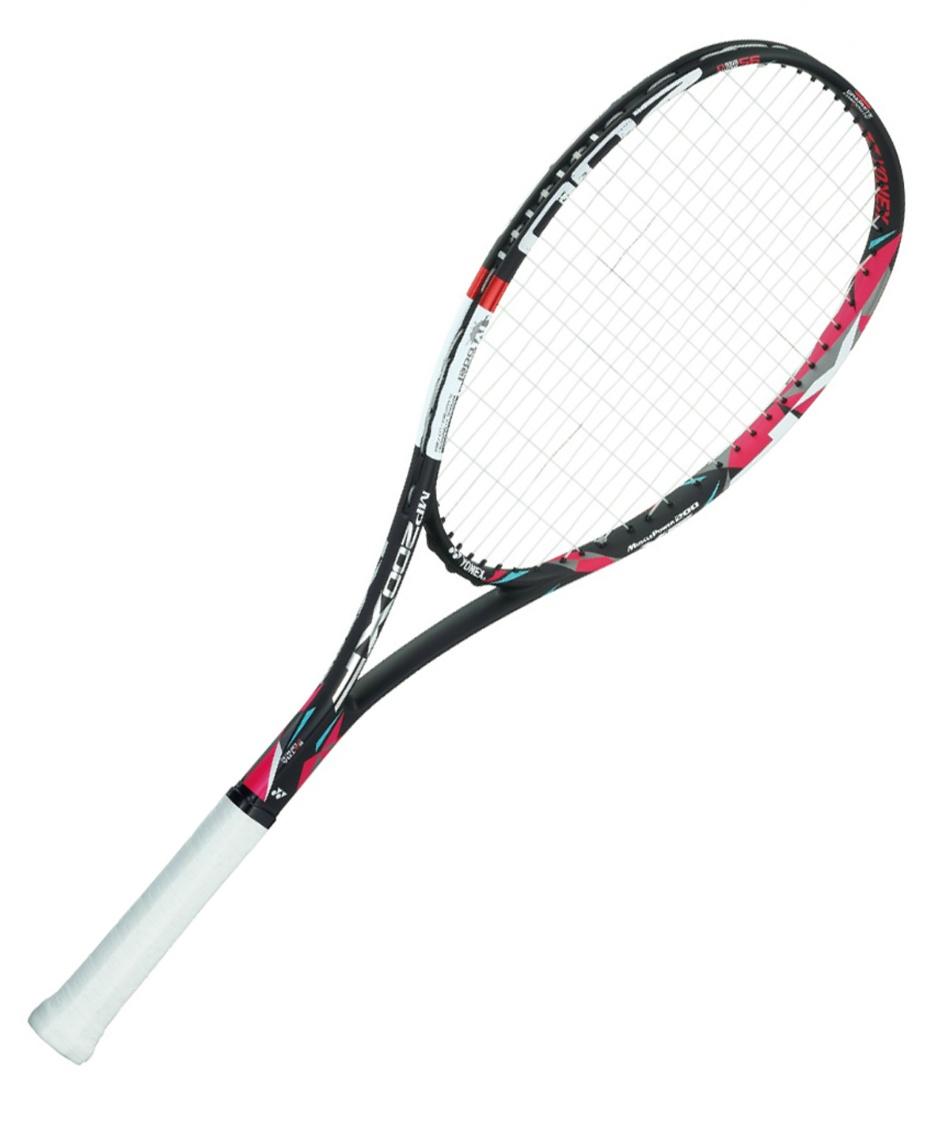 ヨネックス(YONEX) ソフトテニスラケット オールラウンド 張り上げ済み マッスルパワー200XF MP200XFG-187