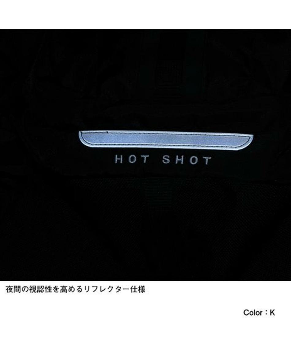 ノースフェイス(THE NORTH FACE) リュックサック 30L ホットショット Hot Shot SE NM72008 K ブラック