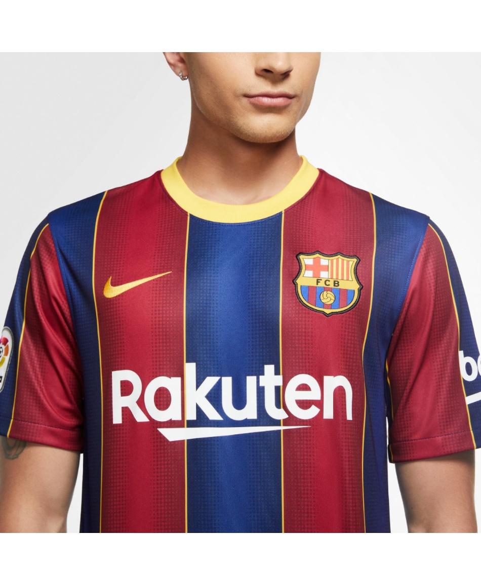ナイキ(NIKE) サッカーウェア レプリカシャツ 2020/21 FC バルセロナ BRT スタジアム ジャージ S/S HOME CD4232-456