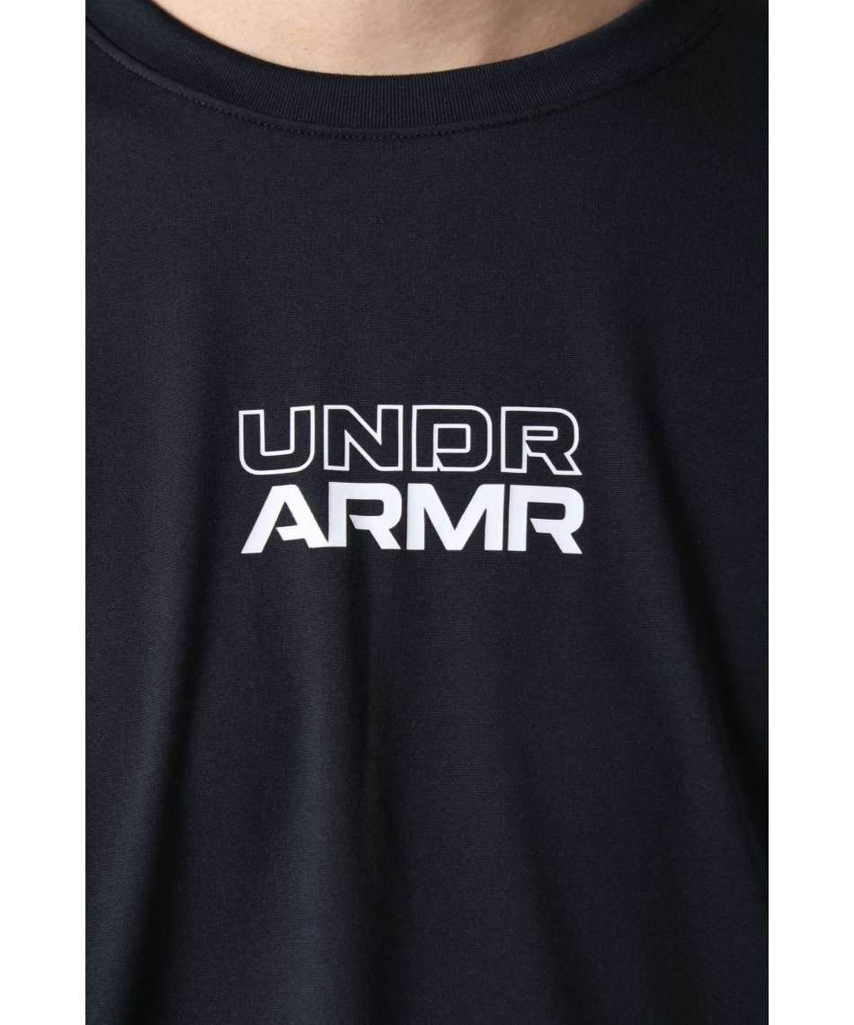 アンダーアーマー(UNDER ARMOUR) バスケットボール 長袖シャツ LONGSHOT LS TEE ロングショット 1364041 001