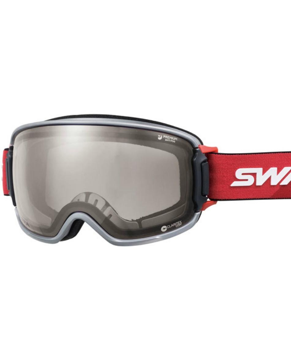 スワンズ(SWANS) スキー スノーボードゴーグル 眼鏡対応 ULTRAレンズ メガネ対応 V-RIDGELINE-MDH-UL 【20-21 2021年モデル】