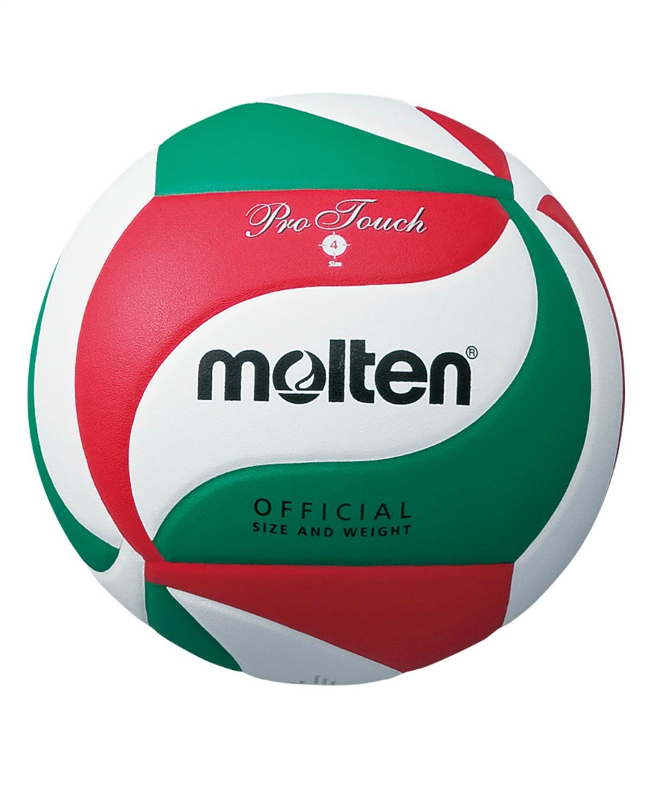モルテン(molten) バレーボール 4号球 プロタッチ  中学 家庭婦人用 V4M4550