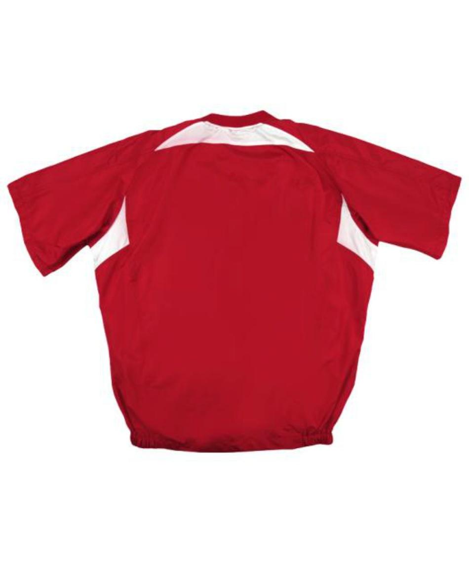 ミズノ(MIZUNO) 野球 ウインドブレーカージャケットVネック Carp半袖Vネックジャケット 12JRVC7262