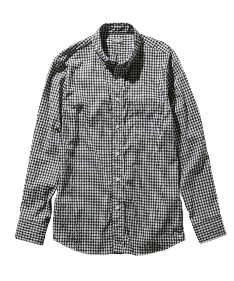ノースフェイス(THE NORTH FACE) 長袖シャツ ロングスリーブヒデンバリーシャツ L/S Hidden Valley Shirt NR11966 BG 【国内正規品】