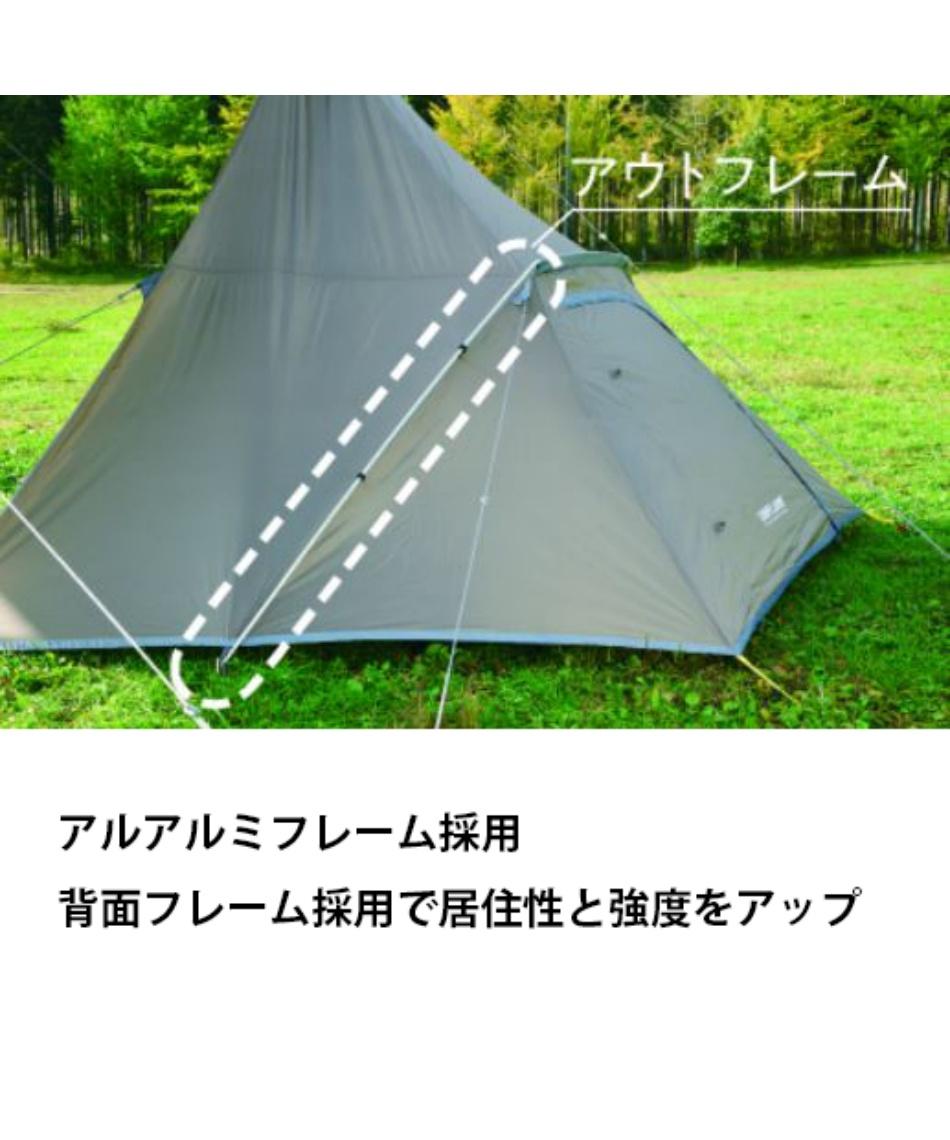 ユニフレーム(UNIFLAME) テント REVOルーム4プラス2TAN 681985