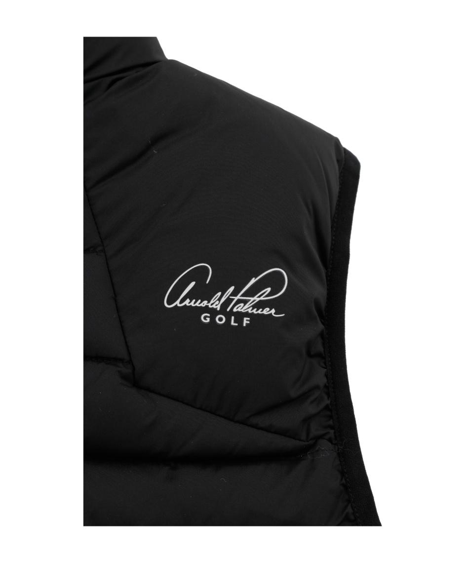 アーノルドパーマー(arnold palmer) ゴルフウェア ベスト BK中綿コンビネーションベスト AP220203I02 【2019年秋冬モデル】
