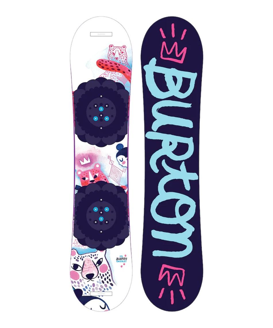 バートン(BURTON) スノーボード 板 Chicklet Flat Top Snowboard 107341 【国内正規品】【19-20 2020モデル】