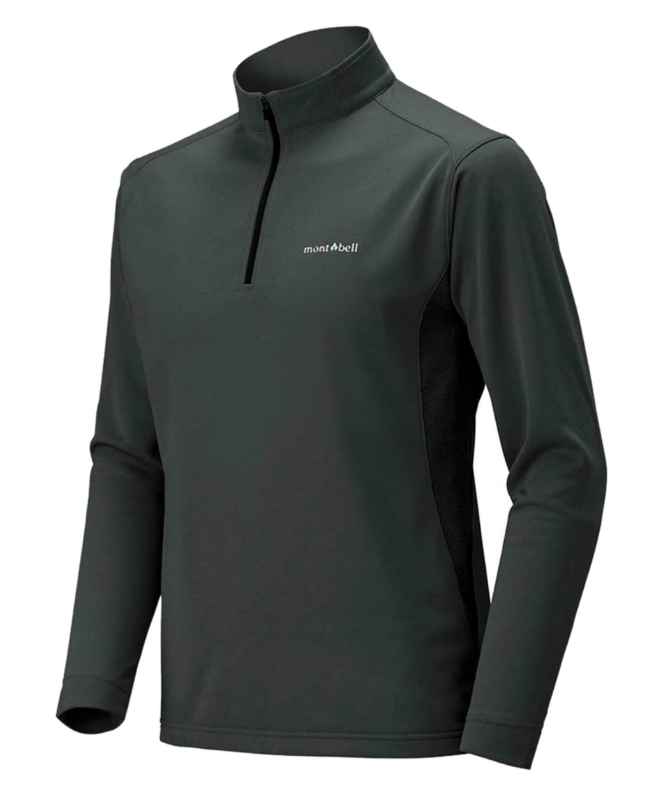 長袖シャツ ウイックロン ZEO ロングスリーブ ジップシャツ 1104940 GM