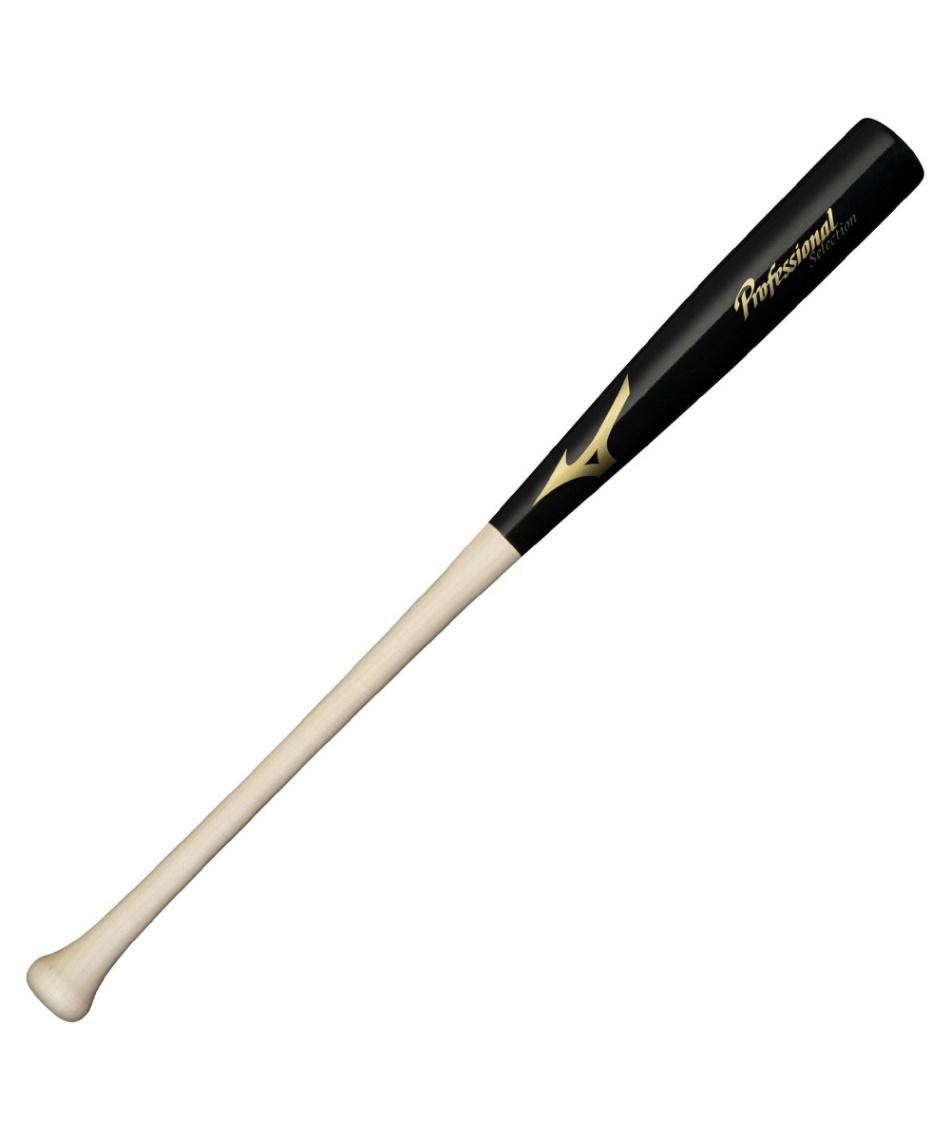 ミズノ(MIZUNO) 野球 一般軟式バット 軟式用プロフェッショナルセレクション 木製 84cm 平均730g 1CJWR01084