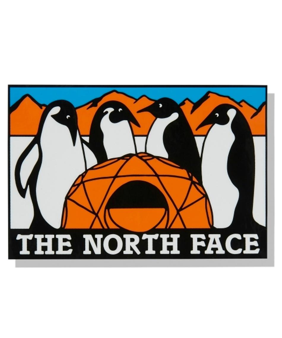 ノースフェイス(THE NORTH FACE) ステッカー TNF Print Sticker TNFプリントステッカー NN32121 AT 【国内正規品】