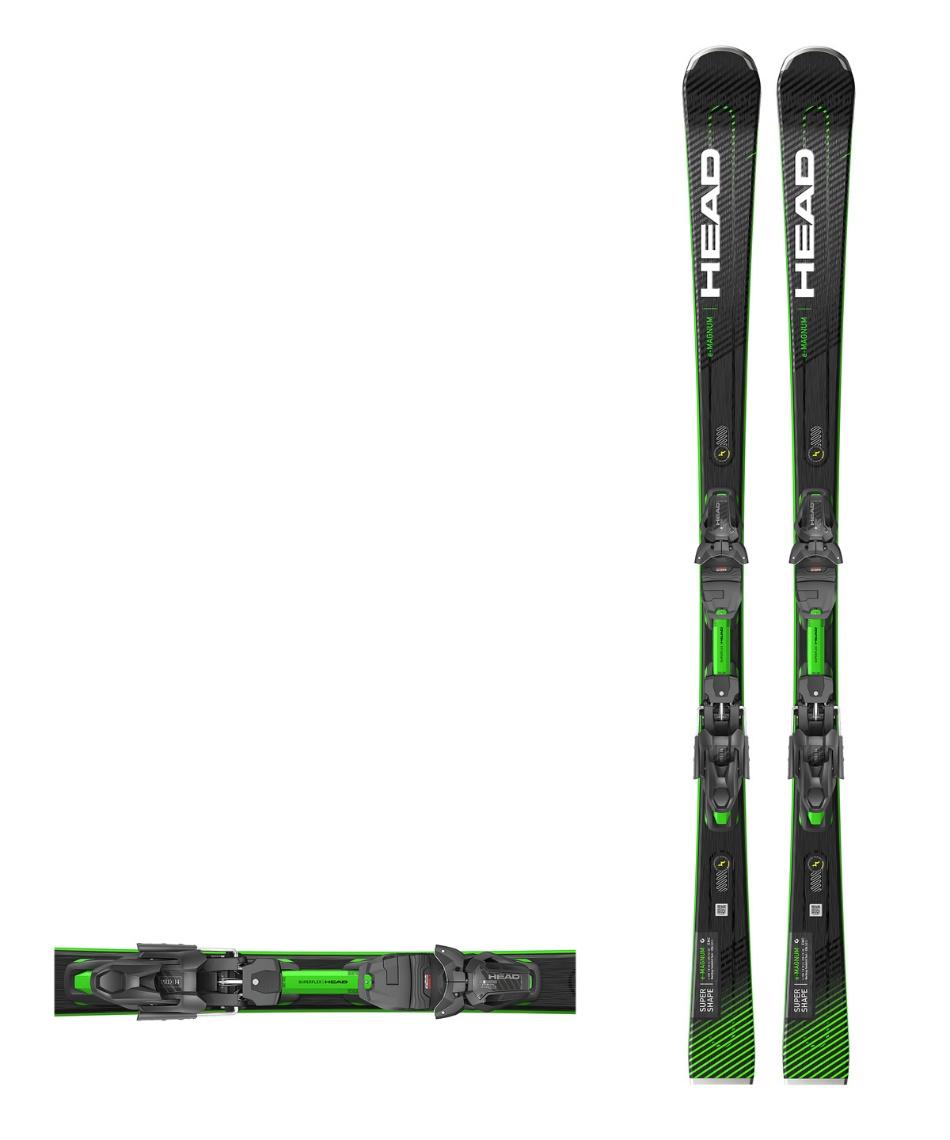 ヘッド(HEAD) スキー板 オールラウンド 板・金具セット SUPERSHAPE E-MAGNUM +PRD12GW