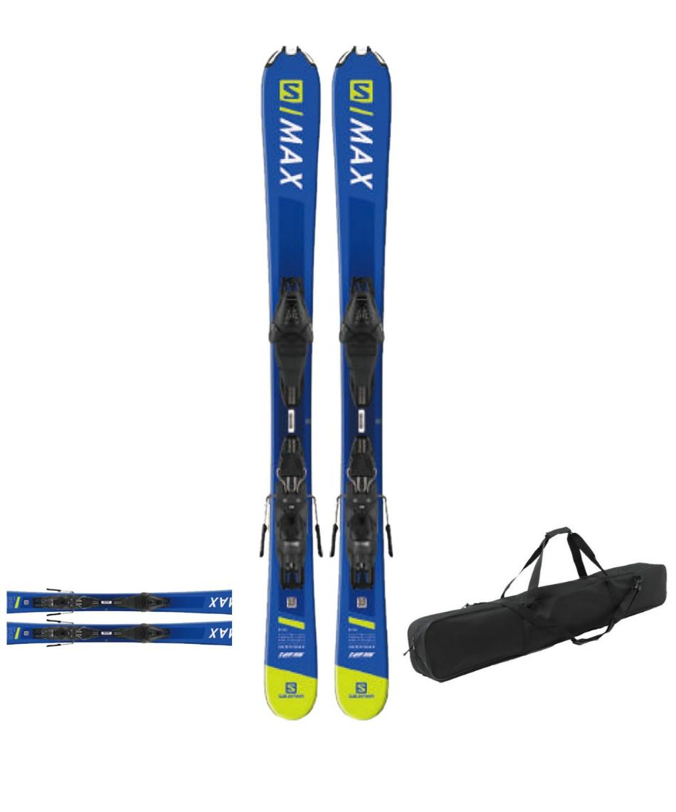 サロモン(salomon) ショートスキー板 ケースセット金具付 スキー板+ビンディング+ケース