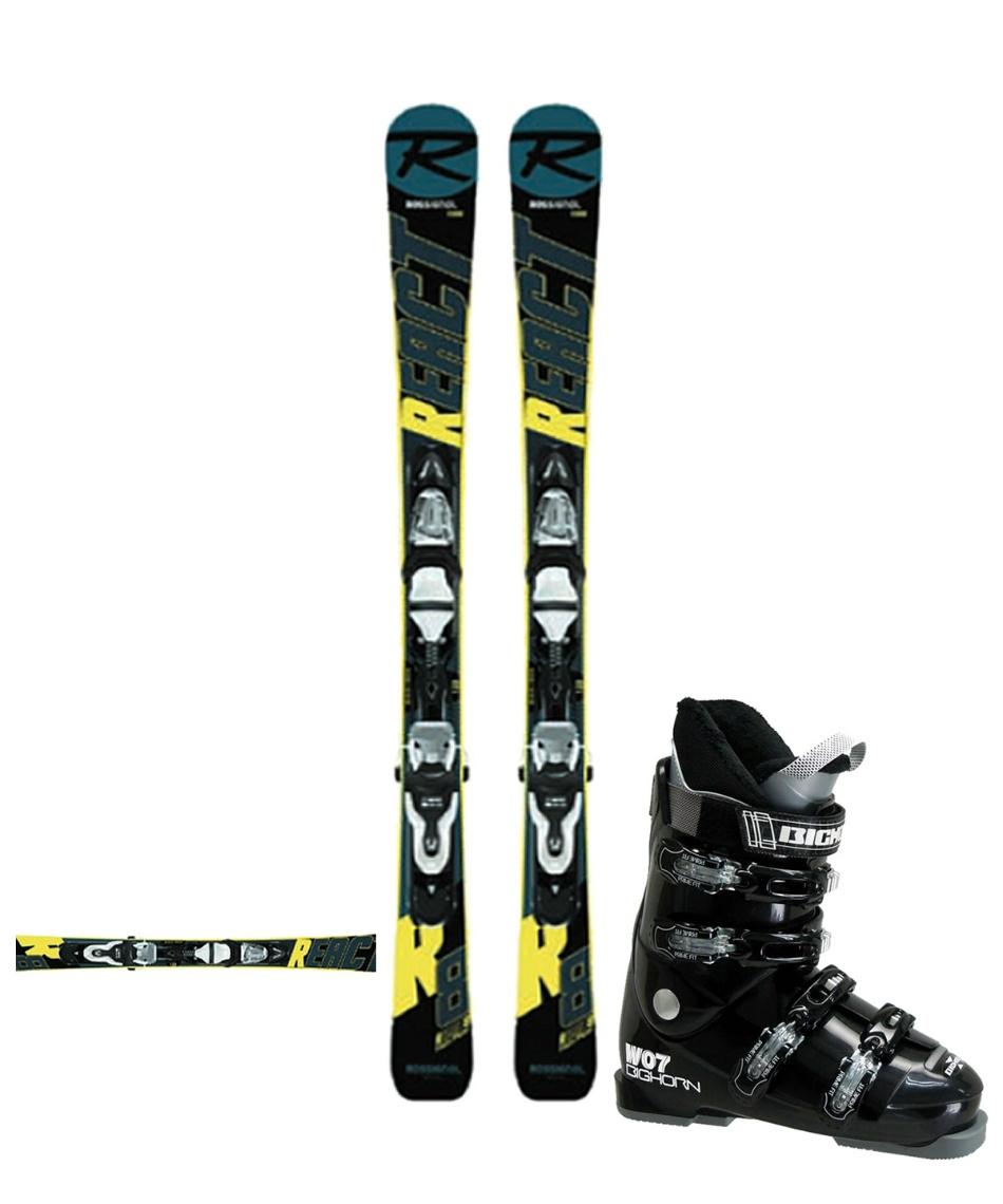 ロシニョール(ROSSIGNOL) ショートスキー板 板・金具・ブーツセット MINI REACT123 +XPRESS10+BH-W07