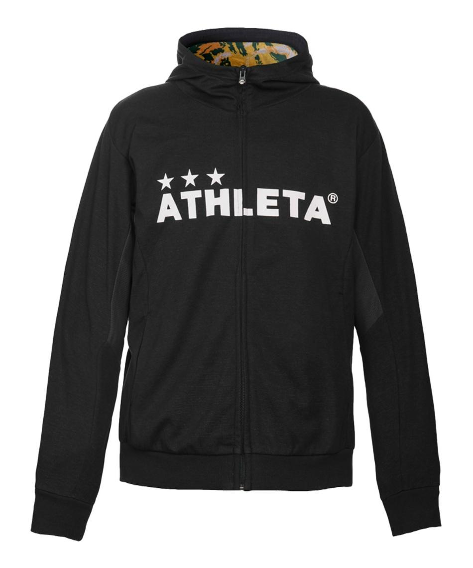アスレタ(ATHLETA) スポーツウェア上下セット ライトスウェットZIPパーカー + ライトスウェットパンツ 03316J + 03318J