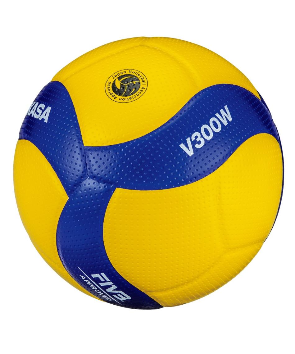 ミカサ(MIKASA) バレーボール 5号球 国際公認球 検定球 5個 セット V300W