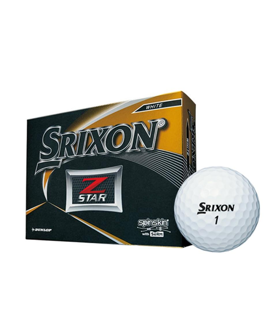 スリクソン(SRIXON) ゴルフボール 1ダース 12個入 ゼットスター Z-STAR 【国内正規品】【2019年モデル】