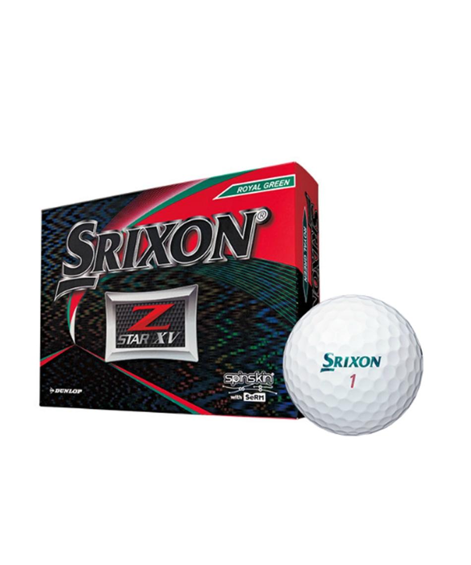 スリクソン(SRIXON) ゴルフボール 1ダース 12個入 ゼットスター Z-STAR XV 【国内正規品】【2019年モデル】