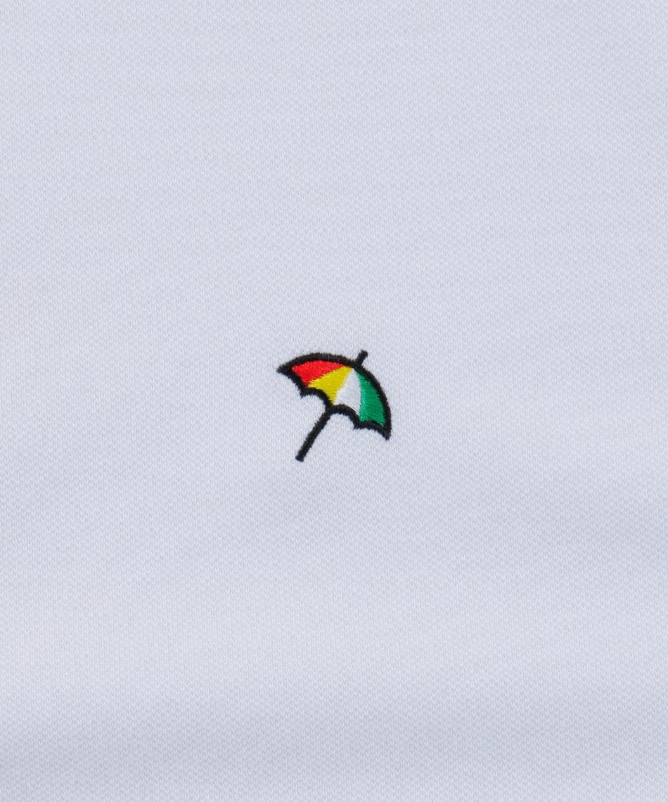 アーノルドパーマー(arnold palmer) ゴルフウェア 半袖ポロ インナーセット ベーシック鹿の子半袖ポロ + 身頃メッシュ AP220101J10 + TD220110J01