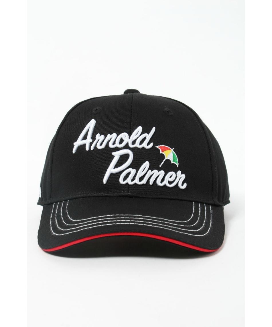 アーノルドパーマー(arnold palmer) ゴルフウェア 半袖ポロ キャップセット エンブレムBD半袖シャツ + ロゴツイルキャップ AP220101J11 + APCP-03